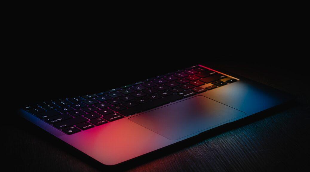 GIF-készítő laptop